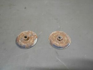 00-05 Cadillac Deville Trunk Lid Latch Striker Plate Mounting Nuts Set