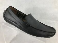 Merona Mens Black Driving Shoes 10.5M        M1