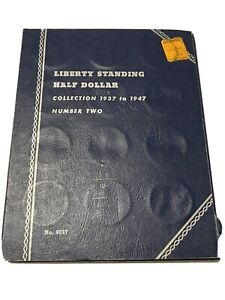 Standing Liberty Half Dollar COMPLETE COLLECTION 1937-1947 In Whitman Book