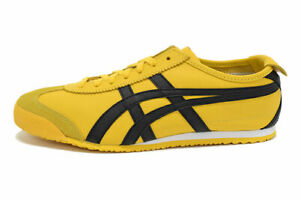 Onitsuka Tiger MEXICO 66 Women's Sneakers Casual Fashion Shoes Yellow DL408-0490