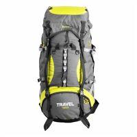 120L TRAVEL Large Waterproof Hiking Backpack Trekking Backpacking Rucksack