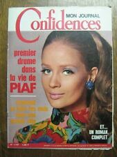CONFIDENCES 1147 (16/11/69) EDITH PIAF