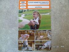 CARTE FICHE CINEMA 2006 LE PETITE MONDE DE CHARLOTTE Julia Roberts S Buscemi