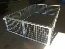 BRAND NEW 8x5x2ft CAGE SUIT MOST BOX TRAILERS approx internal box 2400x1510mm