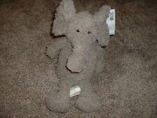 Nat & Jules Plush Elephant Toy Brown Demdaco Fluffums Landree Stuffed NWT VHTF