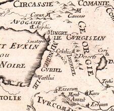 Carte XVIIe Arménie Géorgie Georgia Arménia Армения Ереван Грузия 1683
