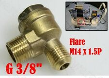 Solid Brass Check Valve Replacement Part For Oil Less Air Compressor (CV2W03)