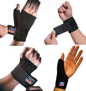 Thumb Spica CMC Hand Support Brace Arthritis Splint Stabiliser Sprain Strain NHS