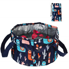 Collapsible Foot Bath Basin for Soaking Feet, Portable Foot Bath Tub Bag with