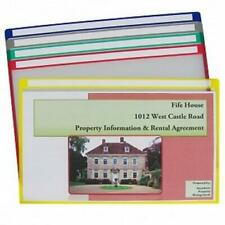 C-Line Products Write-On Project File Folders Legal Assorted Colors Box of 25