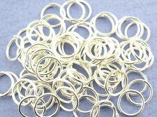 20 Bagues à cintrer 3 mm x 0,5 mm Open Jump Ring federring verbindungsring Plaqué