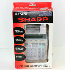 Sharp El-1801P Iii 12 Digit Electronic 2 Color Printing Calculator New Ma24