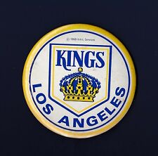 Los Angeles Kings vintage 1969 NHL hockey pinback button