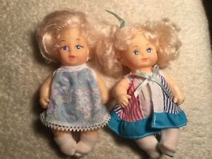 Five Inch Dolls- one 1989 CITITOY