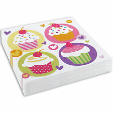 Paper Birthday, Child Cupcakes Party Tableware