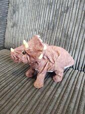 Playskool Electronic Roaring Head Moving Dinosaur Triceratops Kota & Pals Hasbro
