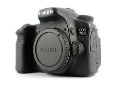 Canon EOS 70D 20.2MP Fotocamera Reflex Digitale Nero (Solo Corpo)