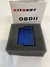 Kitbest Bluetooth OBD2 Scanner Mini OBD Car Diagnostic Code Reader for Androi...