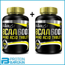 Biotech USA BCAA 6000 Amino Acid Supplement for Muscle Growth 100 Tab