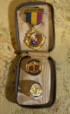 1955 Solid Silver Gilt Hallmark Vintage sporting badge LPBA 1955