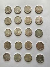 20 x 5,- DM Gedenkmünzen  der Bundesrepublik