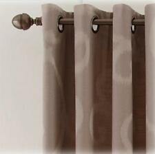 Brand New Royal Velvet Smokey Gray Grommet Top Curtain Panel 50X95