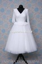 Lace Short Plus Size Wedding Dresses