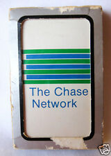 Vintage Deck of Playing Cards Chase Network Unopened Package with Box