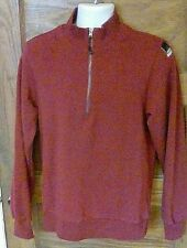 Euc Adidas Equipment Eqt 184 Maroon Pullover 1/2 Zip Sweater Shirt Small S Fs!