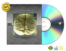 Complete guides How  to improve, train, retain the memory Books Collection On CD
