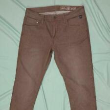 Marks and Spencers regolabili in vita blu scuro gamba dritta-Tasca Con Cerniera Pantaloni Sportivi