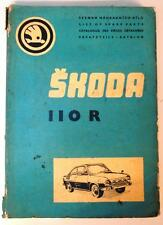 SKODA 1100 R - Car Parts List - 1973 - Czech, English, French & German