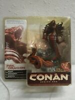 Mcfarlane Toys Conan Fire Dragon Series 1 2004 In Package