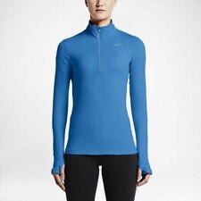 NWT Nike Element Dri-Fit Half-Zip Pullover 685910-435 Light Photo Blue $65 M