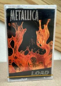 METALLICA Load 1996 2001 Official Ukrainian MC Cassette Tape • Brand NEW, Sealed