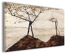 Quadro moderno Egon Schiele vol IX stampa su tela canvas pittori famosi