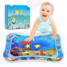 Baby Sensory Toys for 0 6 12 Months Kids Inflatable Tummy Time Water Play Mat &