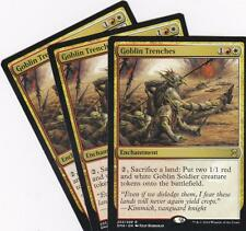 MTG: Eternal Masters: Goblin Trenches x 3