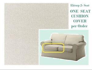 New IKEA Ektorp  Tugelsjo Beige 2 Seat Sofa + Ottoman COVER Footstool + Loveseat