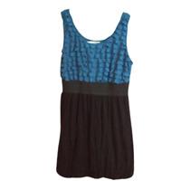 MAURICES Women's Dress Size 0 blue black sleeveless