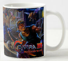 CONTRA 3 The Alien wars - Coffee MUG - CUP - Retro Gaming - Snes NES  - Gift 2