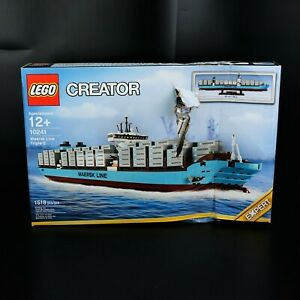 New in Damaged Box Lego Creator Maersk Line Container Ship 10241 -BBR2053