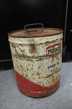 VINTAGE 5 GALLON CAN - TEXACO RANDO MOTOR OIL