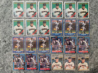 Matt Williams 57 Card Lot Includes Rookie RC Topps #372 Score #118 Fleer #346
