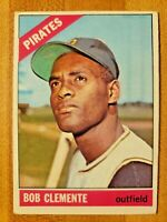 1966 Topps Roberto Bob Clemente #300 Pittsburgh Pirates Great Shape!