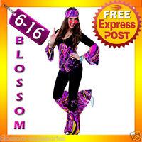 J85 60s 70s Go Go Retro Hippie Girl Disco Dancing Groovy Party Halloween Costume