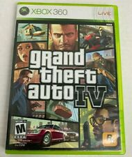 Grand Theft Auto IV Xbox 360 Video Game FREE shipping