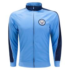 Manchester City 2020 Retro Style Track Jacket - Blue