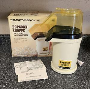 Vintage HAMILTON BEACH Popcorn Shoppe Model 517 Hot Air Corn Popper Scovill Rare
