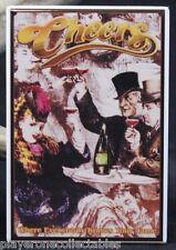"Cheers 2"" X 3"" Fridge / Locker Magnet. 80s TV Ted Danson Woody Harrelson"